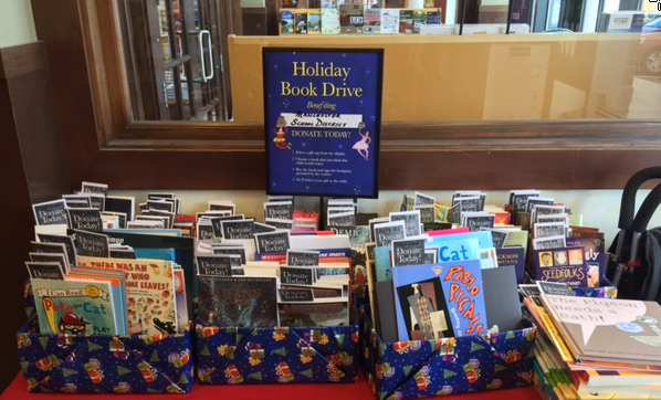 Barnes & Noble Holiday Book Drive 2014