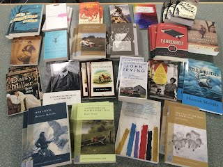 books from NEHS donation